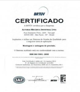 certificado alvomax